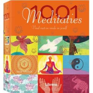 1001 meditaties – vind rust en vrede in jezelf – Mike George – Librero