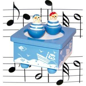 Muziekdoosje dansende Piraten