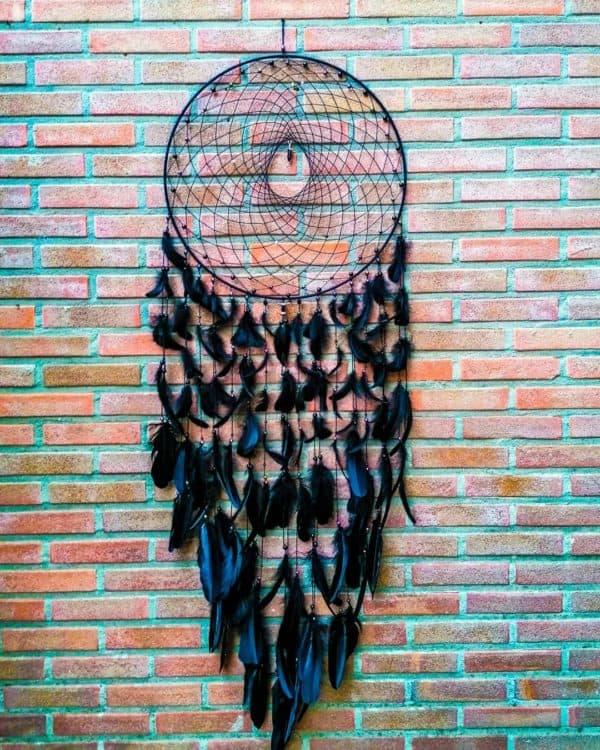 Dromenvanger Anca black 50cm