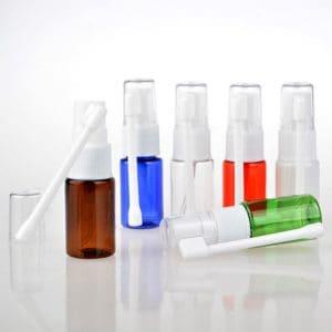 Lege neusverstuiver 10 ml draaibare neusspray pomp vernevelaar