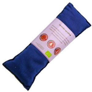 Oogkussen lavendel biologisch blauw