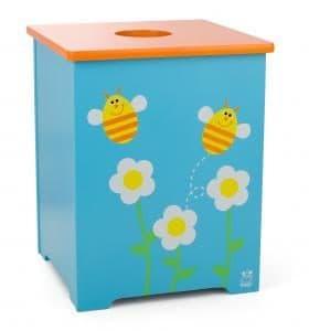 Scratch Houten Speelgoedkist bloemen – Bijen