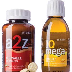 a2z Chewable™ & IQ Mega® Pack dōTERRA