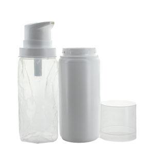 Airless flesje Crème pomp 100ml, lotion gel Dispenser pompje