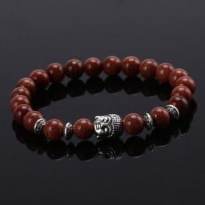 Armband agaat natuurstenen kralen Boeddha