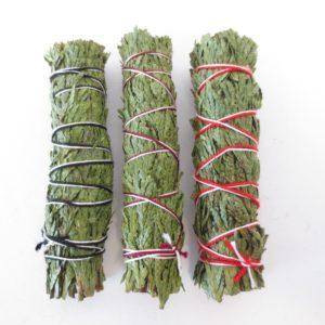 Ceder Smudge Sticks Cedar bundel