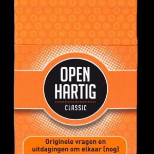Classic kaartspel Openhartig(e) vragen
