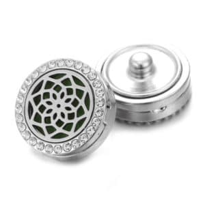 Clicks aroma button Bloem lotus parfum medaillon + aroma pad – clicks buttons