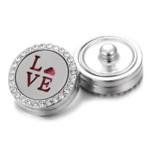 Clicks aroma button love parfum medaillon + aroma pad – clicks buttons