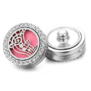 Clicks aroma button muzieknoten parfum medaillon + aroma pad – clicks buttons