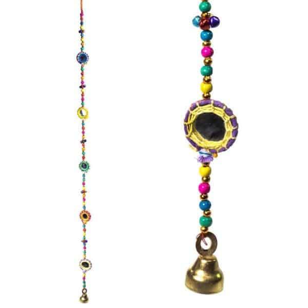 Decoratieve slinger Spiegels belletje