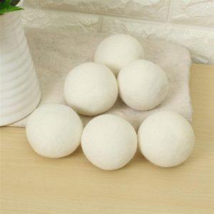 Droogballen wasdrogerballen, wasverzachter bal, dry balls 100% wol (4st)