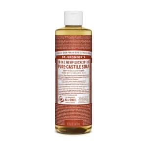 Eucalyptus castille zeep vloeibaar Dr Bronner's