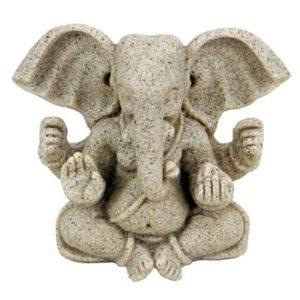 Ganesha beeld zandstructuur