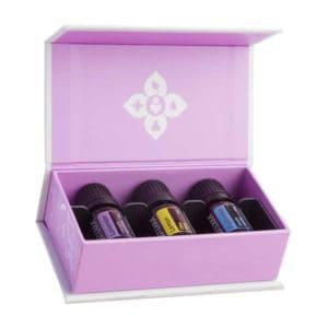Introductiekit essentiële oliën, pepermunt, lavendel, citroen, DōTERRA