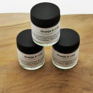 Kleurstof Oranje E-110 Cosmetica kleurpoeder