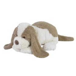 Knuffel Hond bruin wit 38cm – Dog David no. 3 Happy Horse