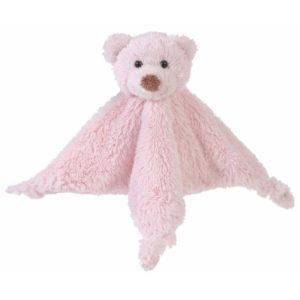 Knuffeldoekje Beer Roze – Pink Bear Boogy Tuttle Happy Horse