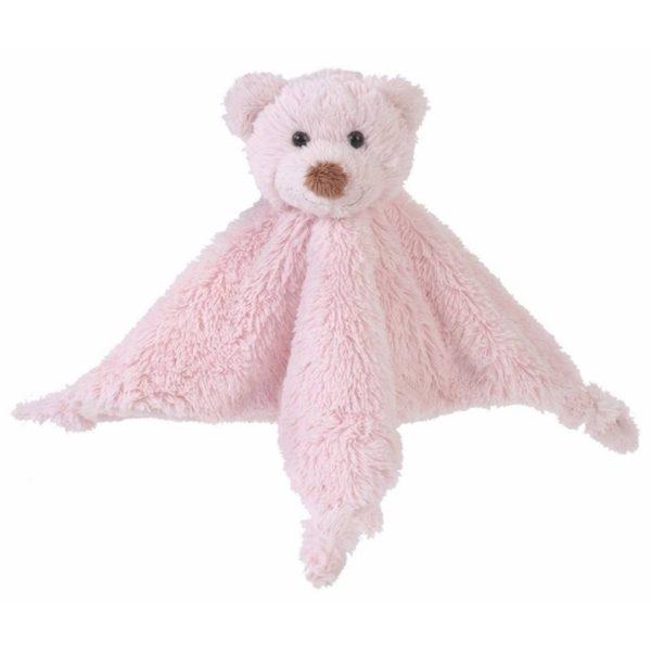 Knuffeldoekje Beer Roze - Pink Bear Boogy Tuttle Happy Horse