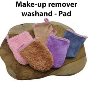 Make-up remover washand – gezichtsreiniger