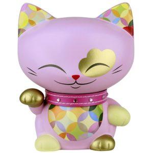 Mani the Lucky Cat Spaarpot Roze (180 mm)
