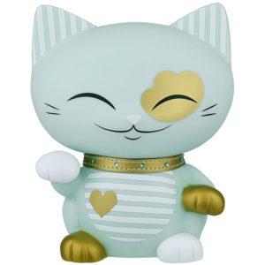 Mani the Lucky Cat Spaarpot Mint Groen (180 mm)