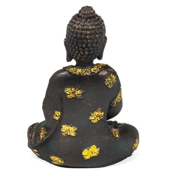 Meditatie Boeddha antieke finish