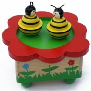 Muziekdoos dansende bijen