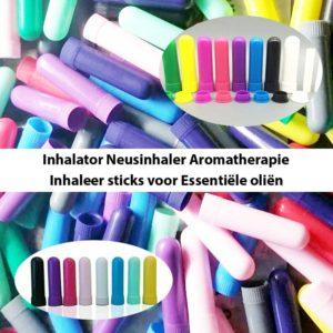 Neusinhaler sticks Essentiële Oliën 10st.