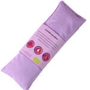 Oogkussen lavendel violet paars biologisch