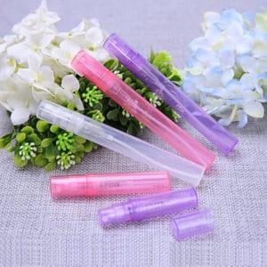Parfum verstuiver 5ml plastic spray flesjes (5 stuks)