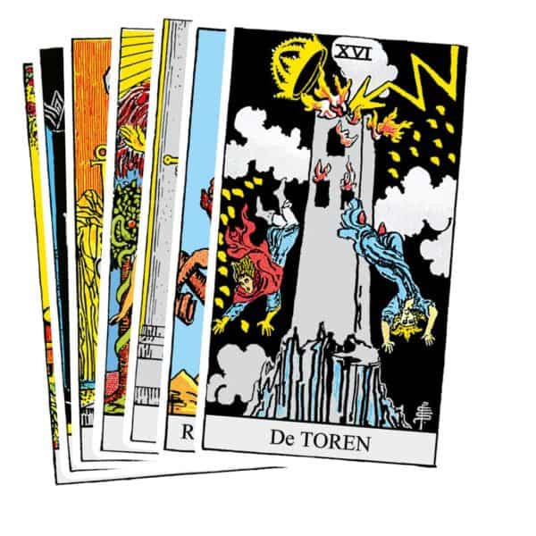 Rider Waite Tarot set kaart 8
