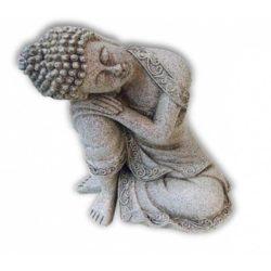 Rustende Boeddha steengrijs