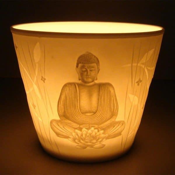 Sfeerlicht Boeddha Votief Porselein
