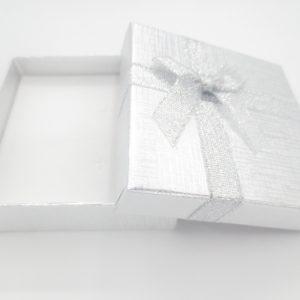Sieradendoosje Zilver + strik