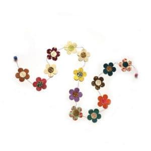 Slinger bloemen 180 cm locta papier