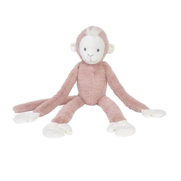 Slingeraap hang aap roze 42cm - Happy Horse Peach Hanging Monkey no. 2