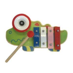 Xylofoon Kameleon met bel