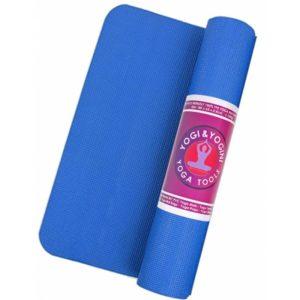 Yogi & Yogini yogamat blauw